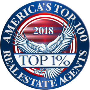 America's Top 100 									Real Estate Agents 2018® Recipient Award