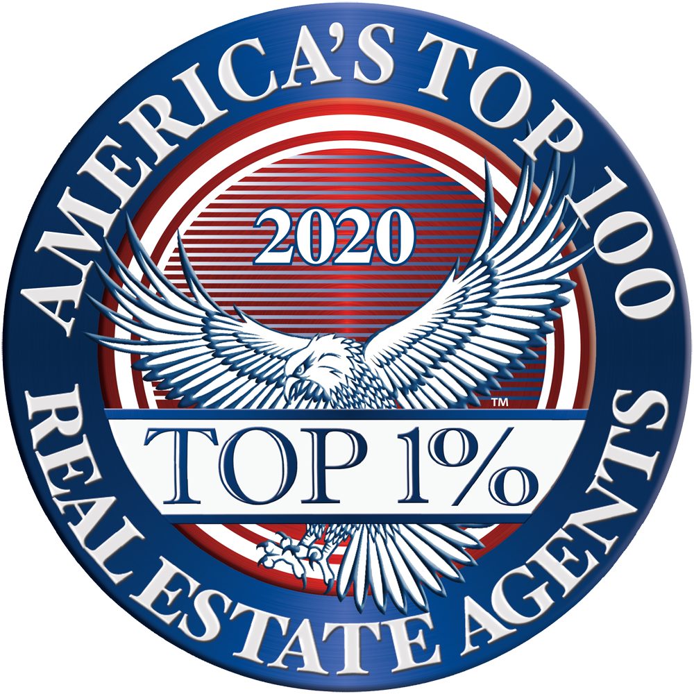 America's Top 100 Real Estate Agents 2020® Recipient Award