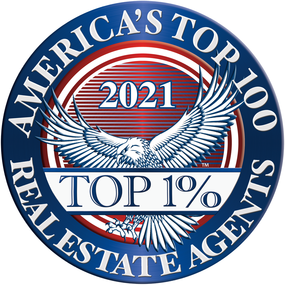 America's Top 100 Real Estate Agents 2021® Recipient Award